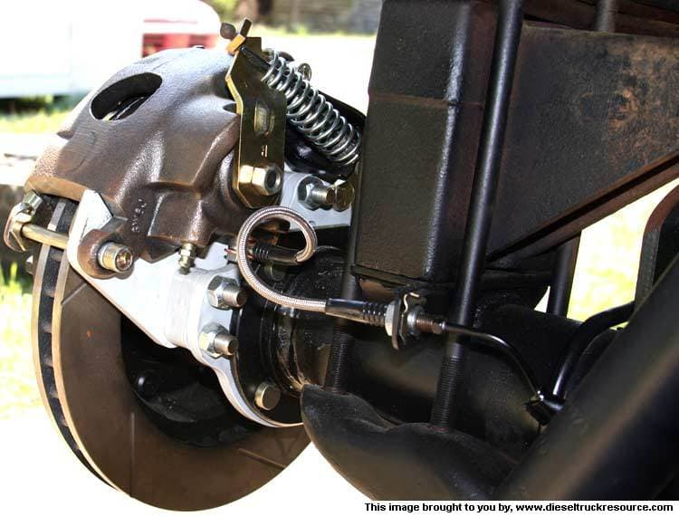 REAR DISC BRAKE CONVERSION KITS