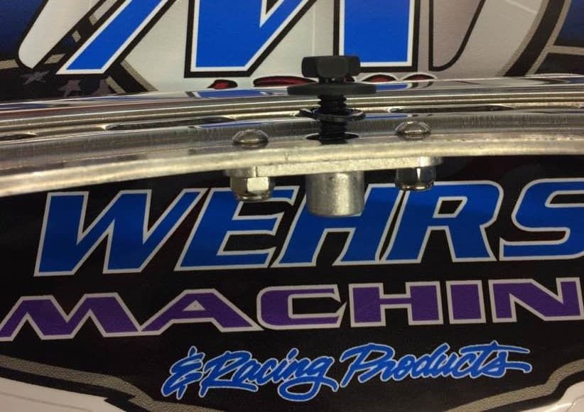 WEHRS BOLT ON WHEEL COVER CONVERSION KIT ALUMINUM