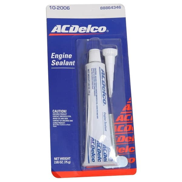 GM-AC Delco Engine Sealant - Gray Silicone Sealer Tube for 602, 603 & 604 GM Crate Motors