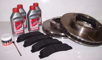 EGR Partial Brake Upgrade Packages for Dodge Ram Diesel / Gas 1/2, 3/4 and 1Ton Pickups. B Package