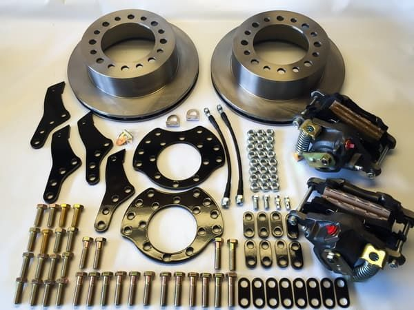 EGR REAR DISC BRAKE CONVERSION KITS for Dodge 1 Ton Trucks 1988 -1993 Dana 80 DRW-Dually Trucks