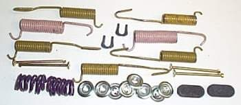 HEAVY DUTY DRUM BRAKE HOLD DOWN AND RETURN SPRING SET
