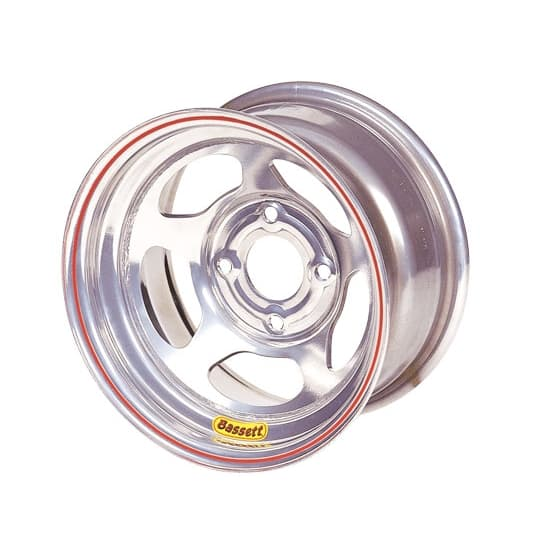 "BASSETT 4-BOLT 13.00"" INERTIA ADVANTAGE WHEELS-LEGENDS, HONDA, MINI STOCK"