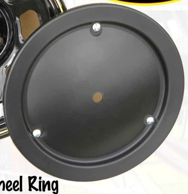 DOMINATOR DOMED WHEEL COVERS -REAL WHEELS