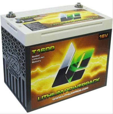 Lithium Pro T1600 - Lithium Products T1600 Lithium Powerpack Battery