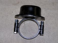 """CTS Clamp-On Lower Spring Cup - Fits 5.00"""" I.D. Spring"""