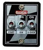 QUICKCAR IGNITION START-CROSSOVER CONTROL PANELS FOR NASCAR
