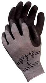 300 AtlasFit Black Gloves