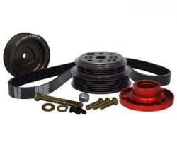 Chevrolet Professional Series Pulley Kits, Head Mounted 1:1 % RATIO