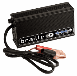 Braille Battery 6 Amp Hour 12 Volt Battery Charger