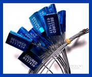 CTS CRATE MOTOR BLUE CABLE SEAL PACK - (8)