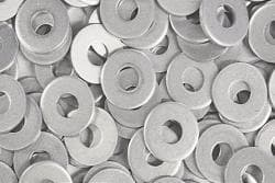 ALUMINUM  BACK UP WASHERS