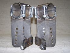 CTS 1978-1988 GM Metric G Body Extra Long Clamp On Trailing Arm Brackets-PAIR