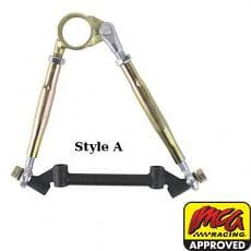 CTS IMCA Modified Adj. Upper Control Arms Offset with Cross Shaft, 10-1/4 Inch