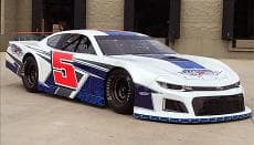 FiveStar Body Packages, New 2019 Late Model ABC Body, black, white and colors