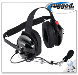 RUGGED RADIO 2-Way Radio Headset