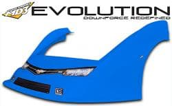 MD3 Gen 3 Complete LM Combo Nose & Flare Kit with Graphics, Gen 3 EVOLUTION-Flat Right Fender
