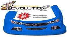 MD3 Evolution 2 High-Impact Late Model Nose, Fenders, Aero Valance Kit-New for 2018