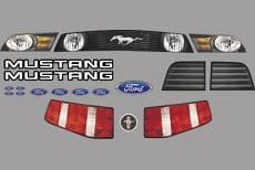 ARP Body Master Graphic Kits-Mustang