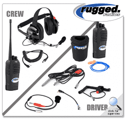 NASCAR System with Rugged RH16C Dual Band Radios