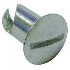 "PanelFast Oval Head Buttons-DZUS Fastners 5/16"" STEEL OR ALUMINUM"