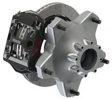 PFC ZR24 Dirt Late Model Brake Package-FRONT PACKAGE