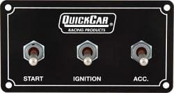 Quick Car 50-720 - Switch Panel - Extreme - Dash Mount