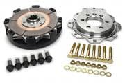Quarter Master V-Drive Clutch kit with BUTTON FLYWHEEL – 5.5 Inch for GM 602 & 604 Crate Engine-1-1/8 in x 10 Spline
