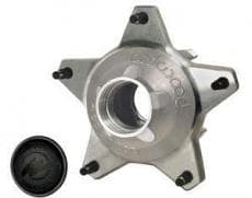 "HUB,STARLITE FRONT WITH SNAP CAP STANDARD OFFSET, 5/8"" COURSE STUDS"