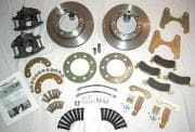 REAR DISC BRAKE CONVERSION KITS for 1/2 Ton GM Models-P/U,TAHOE, SUBURBAN, YUKON