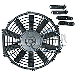 "ELECTRIC FAN - ECONOMY SERIES. 12"" FAN KIT (REVERSIBLE)"