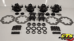 CTS LIGHT WEIGHT FLOATING BRAKE PACKAGE FOR MODIFIEDS & STREET STOCKS