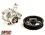 "PSC Pro Series aluminum race pump 1000 psi with 4.5"" serpentine pulley"