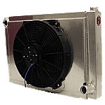 DEMO DERBY RADIATOR WITH ELECTRIC FAN