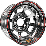 "Bassett Armor Edge 15"" x 8"" D-Hole Wheels-IMCA CERTIFIED"