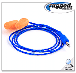 CHALLENGER II FOAM EAR PLUGS-BLUE
