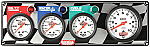 61-60423 - Gauge Panel Assembly - Fuel Pressure, Oil Pressure, Tachometer, Water Temp - Silver Face - Warning Light - Kit