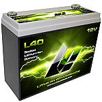 Lithium Products L40 Lithium Powerpack Batteries-Road Racing