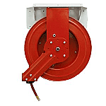 Air Hose Retractable Reel, Economy Reel, 50.0 foot Long, .375 ID Hose