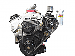 KRC Chevrolet Basic Head Mounted w/h Water Pump Crate Engine Kit