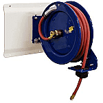 "Air Hose Retractable Reel, 35.0 foot Long, 3/8"" ID Hose, By Cox Reels"