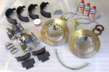 EGR Complete C PAK Brake Upgrade Packages for Dodge Ram Diesel / Gas 1/2, 3/4 and 1Ton Pickups