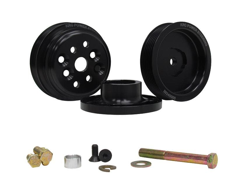 KRC 15% Standard SERPENTINE PULLEY KIT SB CHEVROLET