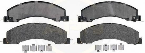 EGR BRAKES CARBON KEVLAR PAD SET FOR DODGE RAM 4500 AND 5500