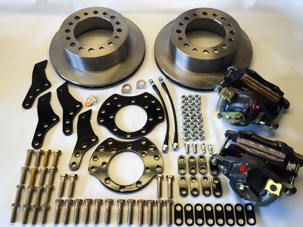 EGR REAR DISC BRAKE CONVERSION KITS for Ford Trucks