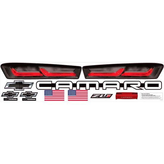 2019 Camaro, Mustang & Camry Taillight Headlight Deluxe Graphic Packages