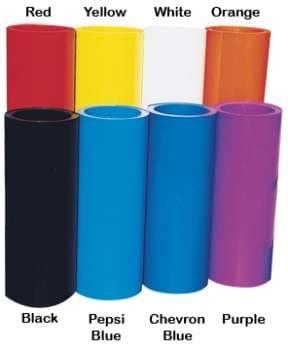 "Rolled Plastic 24"" X 10 Foot Roll"