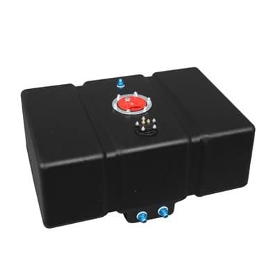Fuel Cell, Plastic, Black, 16 Gallons, 0-90 Ohm Sender