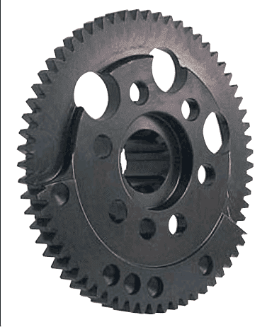 GM 602, 603, 604 Crate Engine Drive Flange and Flywheel, No Pulley, External Balance