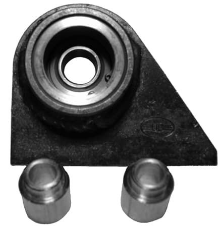 Weld on Metric upper trailing arm mounts with Mono Ball
